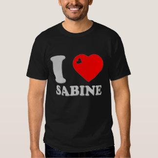 I LOVE SABINE SILVER SHIRTS