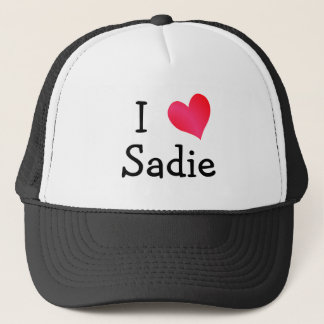 I Love Sadie Trucker Hat