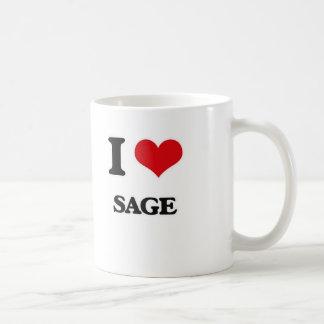 I Love Sage Coffee Mug