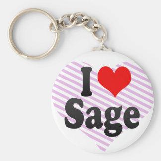 I love Sage Keychains