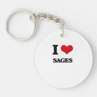 I love Sages Keychains