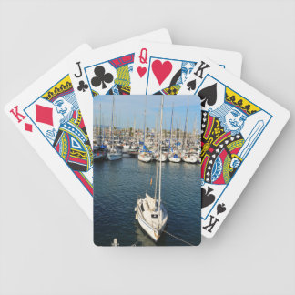 I love sailing bicycle playing cards