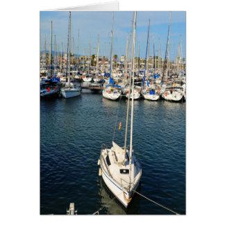 I love sailing card