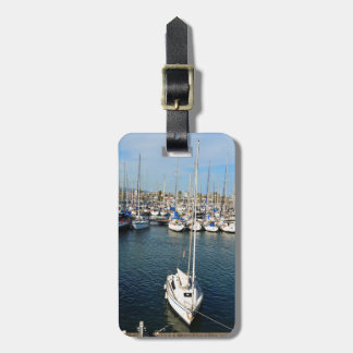 I love sailing luggage tag