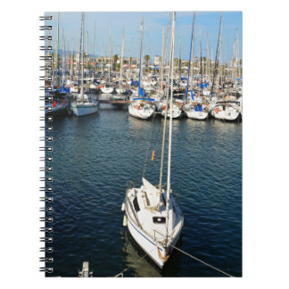 I love sailing spiral notebook