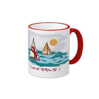 I love sails ! Mug