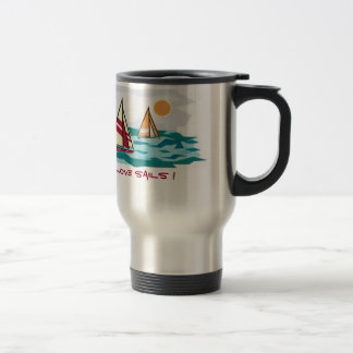 I love sails ! Travel Mug