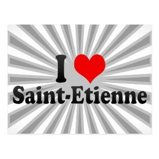 I Love Saint-Etienne, France Postcard
