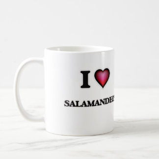 I Love Salamanders Coffee Mug