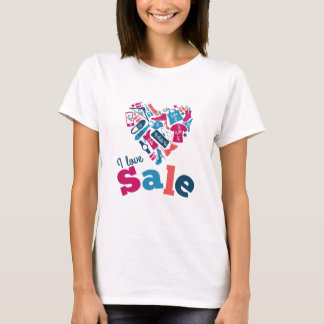 I Love Sale Fun Shirt