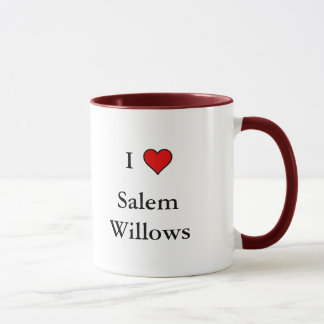 I love Salem Willows mug