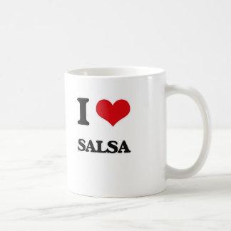 I Love Salsa Coffee Mug