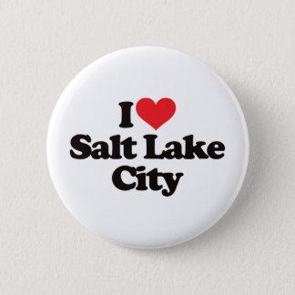 I Love Salt Lake City 2 Inch Round Button