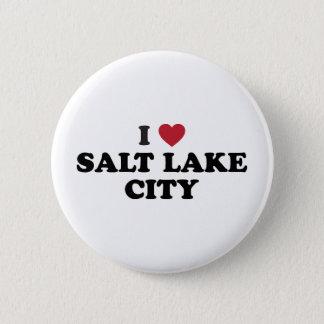 I Love Salt Lake City Utah 2 Inch Round Button