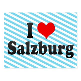 I Love Salzburg, Austria Postcard