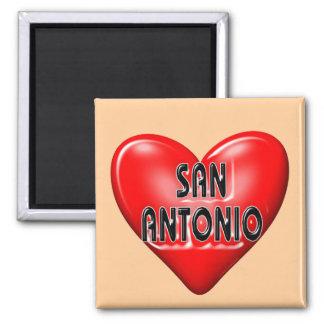 I Love San Antonio Refrigerator Magnets