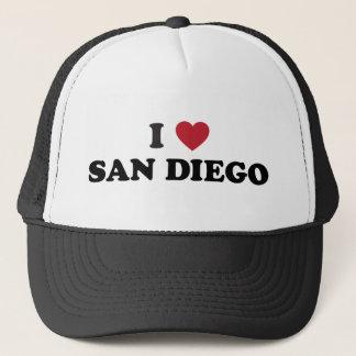I Love San Diego California Trucker Hat
