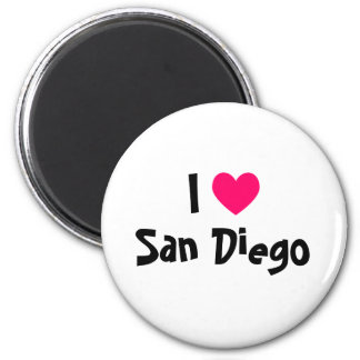 I Love San Diego Fridge Magnet