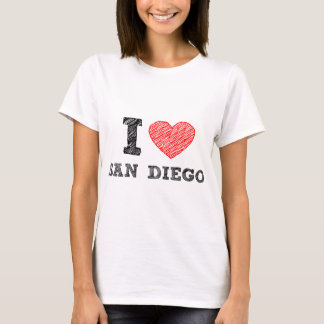 I Love San Diego T-Shirt