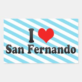 I Love San Fernando, Philippines Sticker