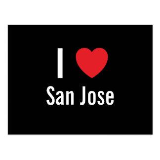 I love San Jose Postcard