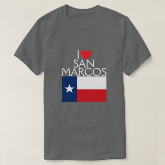 I Love San Marcos, Texas T-Shirt