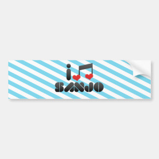 I Love Sanjo Bumper Sticker