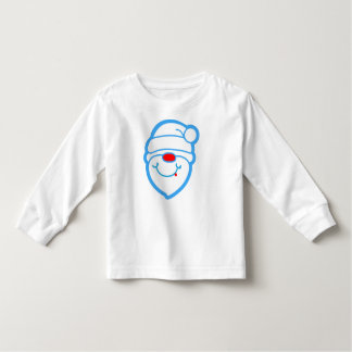I love Santa Claus Illustration for a Baby Toddler T-shirt