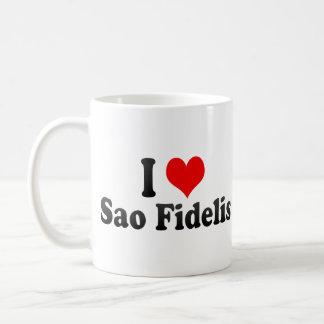 I Love Sao Fidelis, Brazil Mug