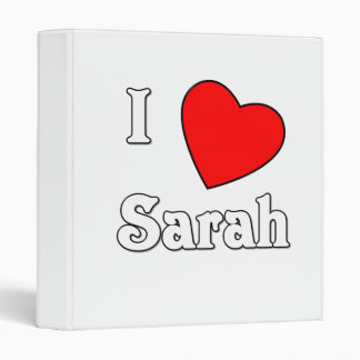 I Love Sarah Binders