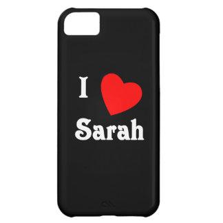 I Love Sarah iPhone 5C Case
