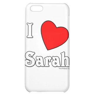 I Love Sarah iPhone 5C Cases