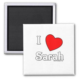 I Love Sarah Magnet