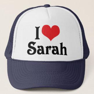 I Love Sarah Trucker Hat