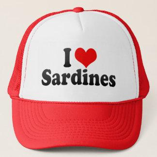 I Love Sardines Trucker Hat