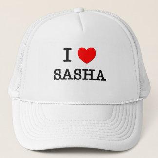 I Love Sasha Trucker Hat