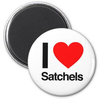 i love satchels refrigerator magnet