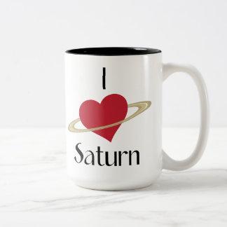I love saturn mug