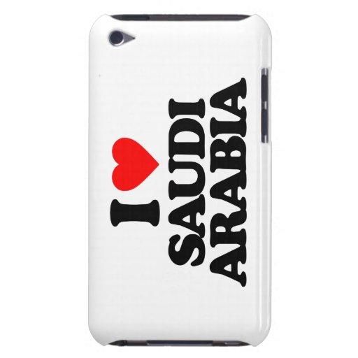 I LOVE SAUDI ARABIA iPod TOUCH COVERS