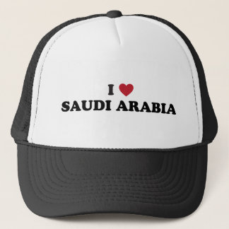 I Love Saudi Arabia Trucker Hat
