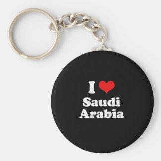 I Love Saudi Arabia Tshirt Keychain