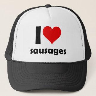 I love sausages trucker hat