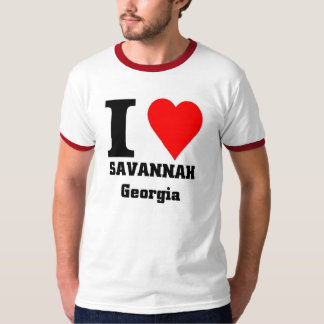 I love savannah, Georgia T-Shirt