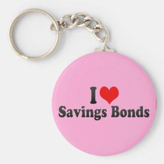 I Love Savings Bonds Keychain