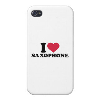 I love Saxophone Cases For iPhone 4