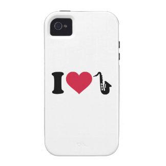 I love Saxophone iPhone 4/4S Covers