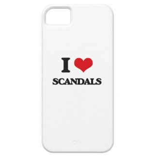 I Love Scandals iPhone 5 Cover