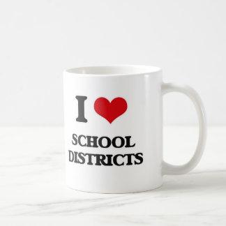 I Love School Districts Coffee Mug