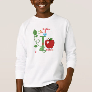 I Love School Kid's T-Shirt
