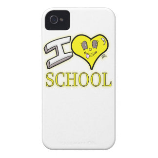 i love school yellow school bus edition iPhone 4 covers